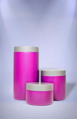 Embalagem plástica cosméticos