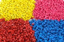 Plásticos granulados