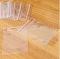 Compar saco plástico com fecho