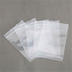 Sacos plásticos transparente grande