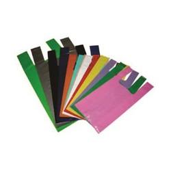 Compar sacolas plásticas coloridas