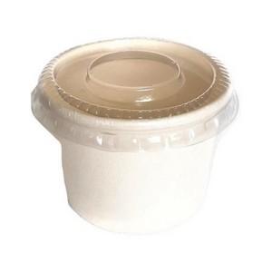 Pote biodegradável compostável