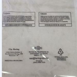 Saco de PP impresso adesivo